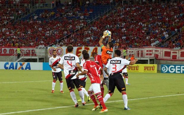 América-RN x Vitória, Arena das Dunas (Foto: Augusto Gomes/GloboEsporte.com)