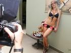Dani Vieira, a loira da Casa de Vidro de 'Amor à vida', seduz no Paparazzo