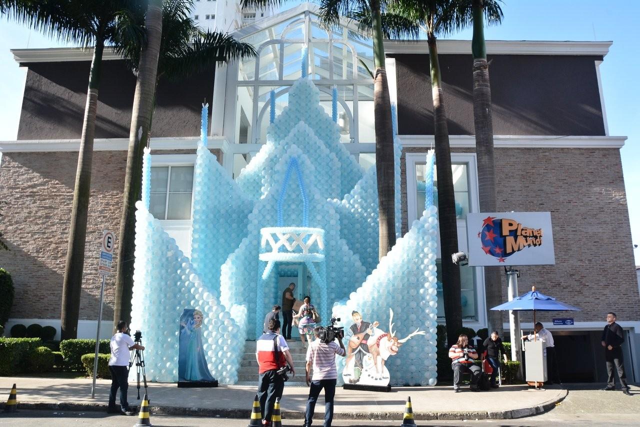 Decoração da festa de aniversáiro de Rafa Justus (Foto: AgNews)