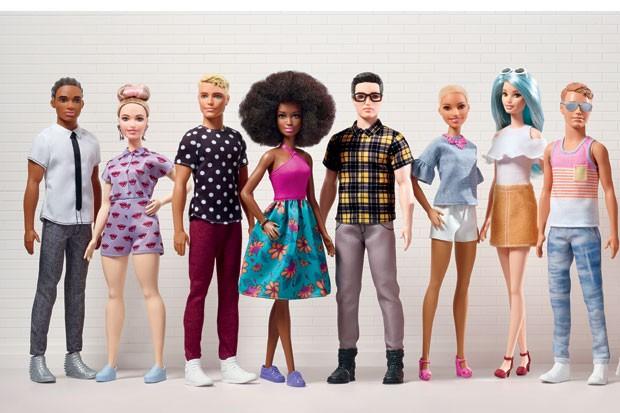 Novos bonecos Barbie e Ken (Foto: Divulgação)