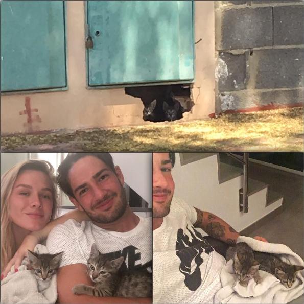 Pato e Fiorella Mattheis (Foto: Reprodução/Instagram)