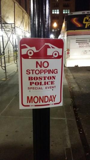 Chegada de Obama ofusca Seleção em Boston (Foto: Márcio Iannacca)