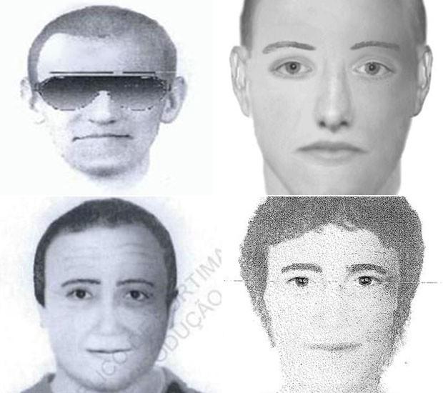 suspeitos madeleine (Foto: Metropolitan Police/AP)