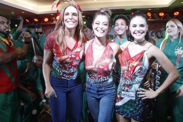 Ivete, Juliana Paes e Paloma Bernardi (Foto: Rodrigo dos Anjos / Daniel Pinheiro / AgNews)