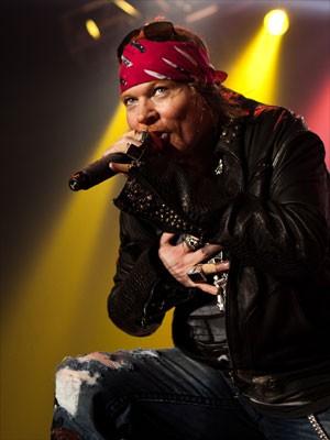 Axl Rose, vocalista do Guns N 'Roses (Foto: Divulgação)