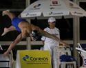 Nicholas melhora tempo da prata do Mundial e vence 50m borboleta em SP