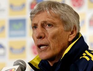 Jose Pekerman Colômbia (Foto: AP)
