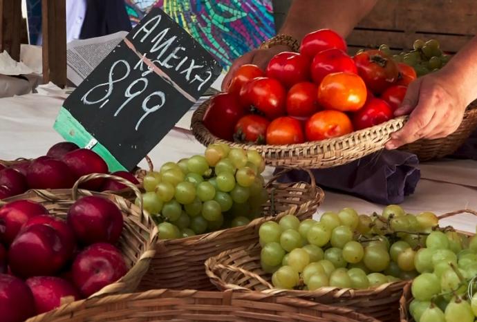 Que tal frutas e verdurinhas fresquinhas, direto da barraca da feira? (Foto: Reprodução / TV TEM)