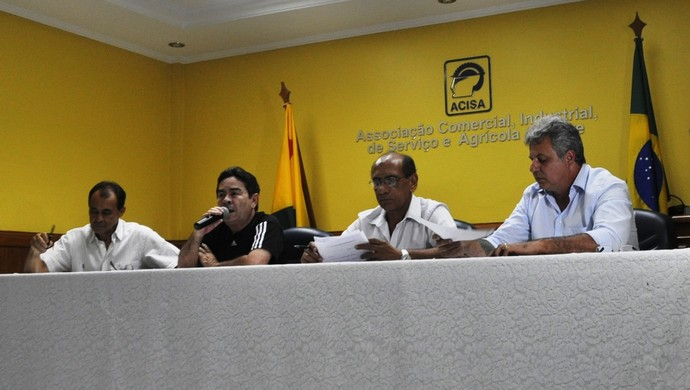 Reunião diretoria Rio Branco-AC (Foto: Duaine Rodrigues)