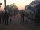 Presos chegam à Máxima da capital de MS após rebelião no interior