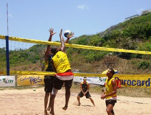 Circuito maranhense de vôlei de praia, na Avenida Litorânea, em São Luís-MA (Foto: Divulgação/Igor Leonardo)