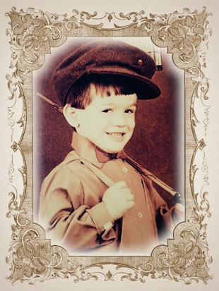 foto criança DIEGO HYPOLITO moldura (Foto: arte esporte)