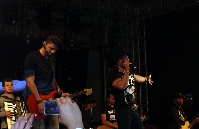 Munhoz e Mariano Festeja (Foto: Divulgação/ RPC)
