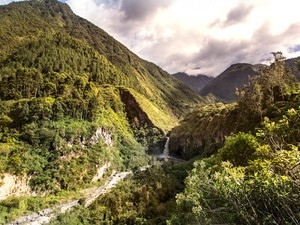 Baños, Equador (Foto: Leonardo Spencer/Viajo Logo Existo)