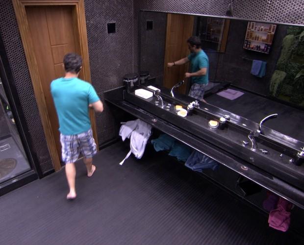 BBB às 07h05m do dia 21/01. (Foto: Big Brother Brasil)