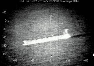 Radar do P-3AM é capaz de captar imagens de navios e submarinos na escuridão (Foto: FAB/Divulgação)