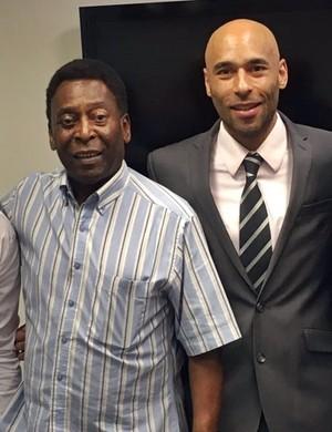 Pelé é nomeado presidente de honra do Tricordiano (Foto: Divulgação Tricordiano)