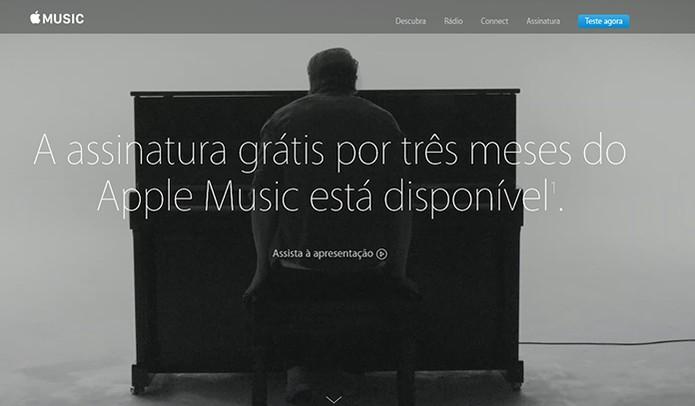 Apple Music oferece três meses gratuitos (Foto: Reprodução/Barbara Mannara)