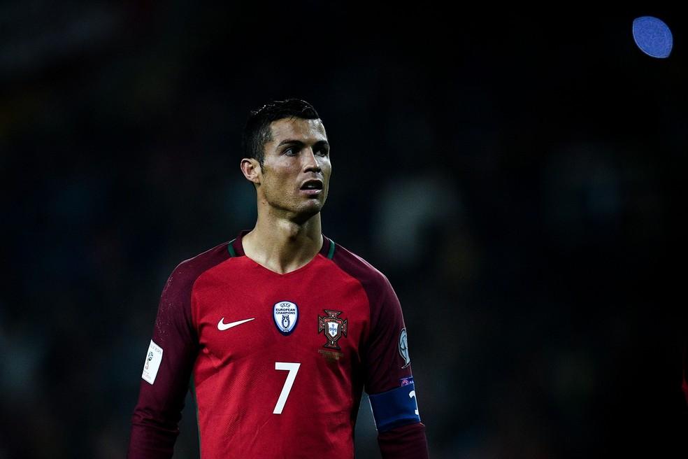 Capitão, Cristiano Ronaldo vem embalado por temporada histórica no Real Madrid (Foto: Getty Images)