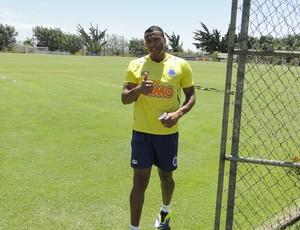 Júlio Baptista Cruzeiro Treino (Foto: Marco Astoni)