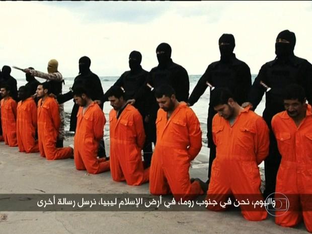 Estado Islâmico (Foto: Reprodução TV Globo)