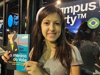 Bel Pesce lança livro na Campus Party Recife (Foto: Luna Markman/G1)