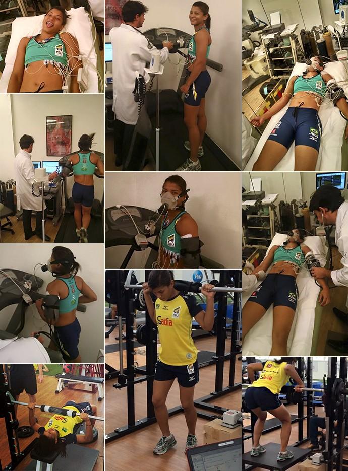 Sarah Menezes em exames e testes para 2016 (Foto: Reprodução/Instagram)