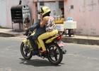 Mototaxistas faturam grana extra no Enem (Gilcilene Araújo/G1)