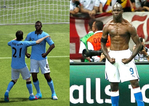 G1 -  Fifa 13  terá comemoração  Hulk  do italiano Mario Balotelli ... 853ffbfe5d242