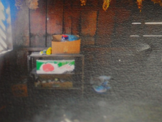 Cozinha do alojamento de madeira onde trabalhadores ficavam (Foto: SRTE-MT)