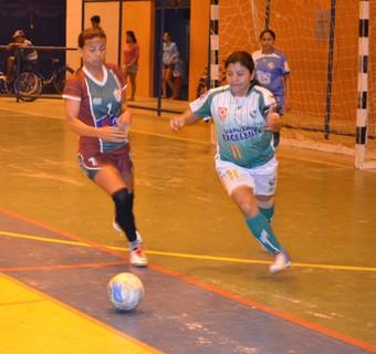 Independente mostrou o favoretismo e venceu o Valência (Foto: Nailson Wapichana/GloboEsporte.com)