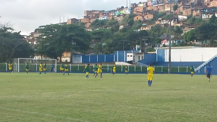 Último treino em Maceió foi nesta quinta-feira (Foto: Augusto Oliveira / GloboEsporte.com)