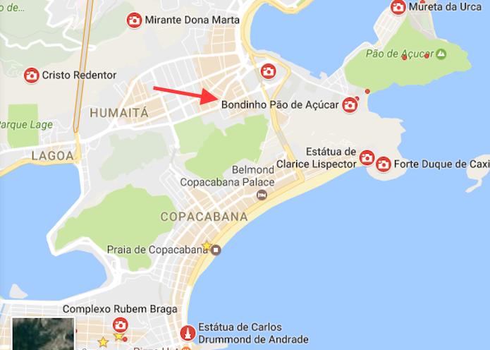 Como encontrar atraes tursticas de uma cidade com o google maps atraes tursticas de uma cidade marcadas no mapa do google maps foto reproduo reheart Images