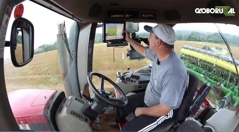 tecnologia-campo-agricultura-de-precisao-piloto-automatico (Foto: Reprodução/Globo Rural)