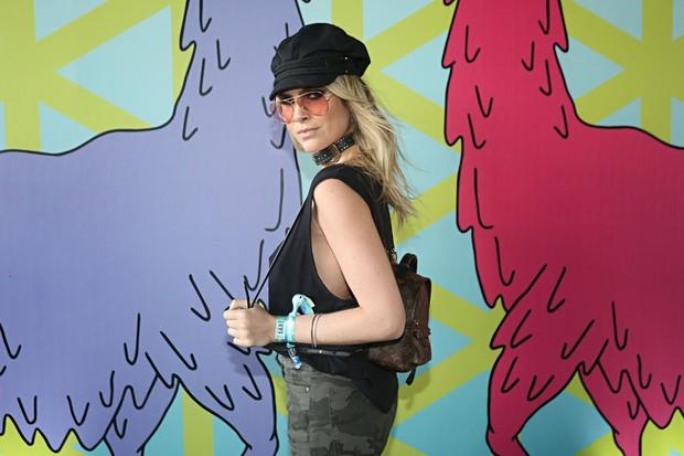 Julia Faria no Lollapalooza 2017 (Foto: Celso Tavares/EGO)