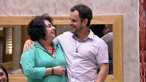 Mariza e Adrilles (Foto: Paulo Belote / Globo)