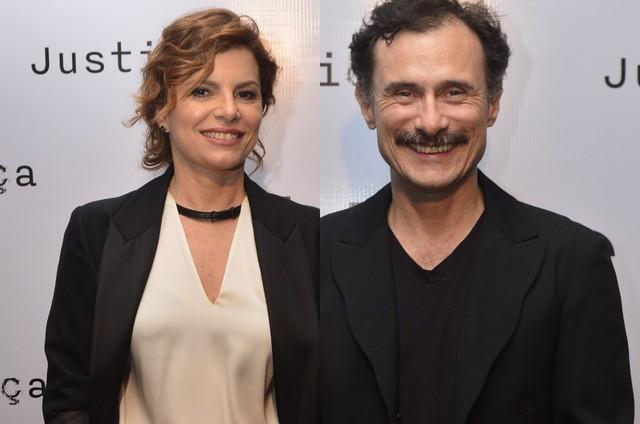 Debora Bloch e Enrique Diaz (Foto: TV Globo)