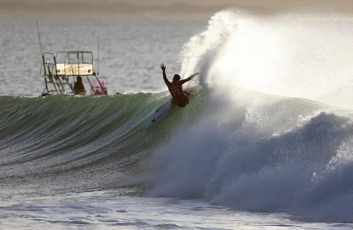 Filipe Toledo em ação na 2ª fase da etapa de Jeffreys Bay (J-Bay) Mundial de Surfe (Foto: WSL / Cestari)