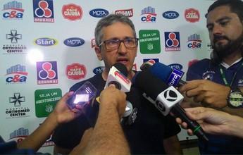 """Barroso admite partida ruim do UEC, e diz: """"queria resultado, não boa partida"""""""