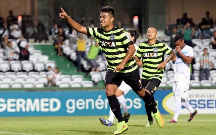 Rafhael Lucas Couto Pereira Coritiba x Londrina (Foto: Site oficial do Coritiba/Divulgação)