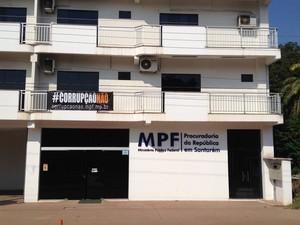 sede do MPF em Santarém (Foto: Adonias Siiva/G1)