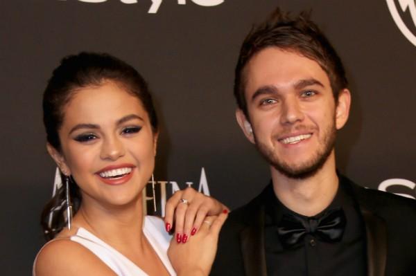Selena Gomez e seu ex, o DJ Zedd (Foto: Getty Images)