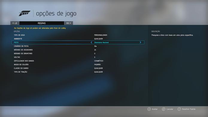 Personalize as partidas online da maneira que quiser (Foto: Reprodução/Victor Teixeira)