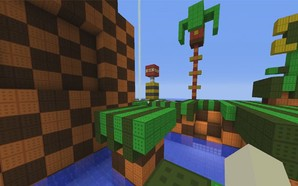 Sonic the Hedgehog Minecraft