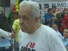 O médico José Augusto de Oliveira é candidato pelo Diretório Municipal do Partido do Movimento Democrático Brasileiro (PMDB). (Foto: Reprodução/TV RO)
