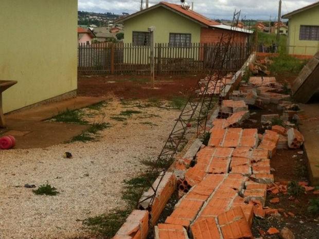 enfeites para jardim ponta grossa:G1 – Muro de casa desaba e mata criança de 4 anos em Ponta Grossa, no