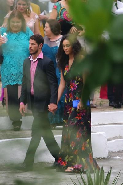 José Loreto e Debora Nascimento - Casamento Sophie Charlotte e Daniel de Oliveira (Foto: Dilson Silva, Delson Silva e Felipe Assumpção)