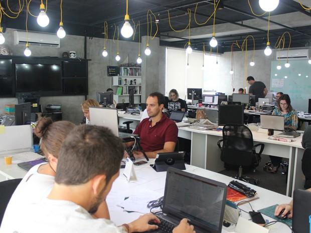 Instalações da Fliperama estimulam o trabalho colaborativo  (Foto: Fliperama/Divulgação)