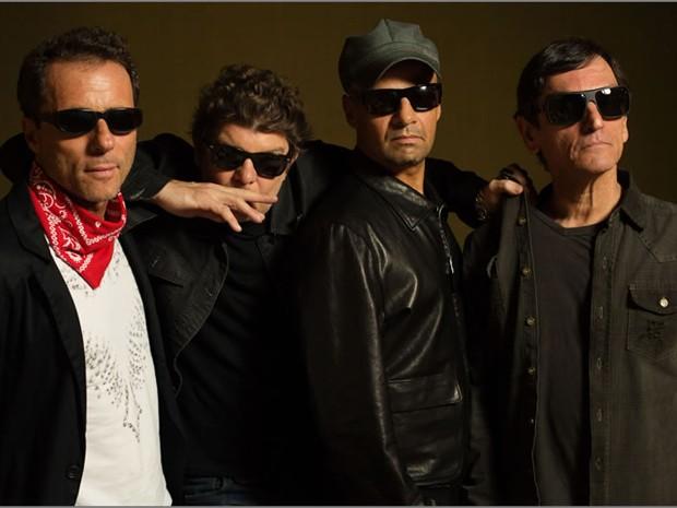 Formação atual dos Titãs, da esquerda: Tony Bellotto, Branco Mello, Sérgio Britto e Paulo Miklos (Foto: Divulgação)