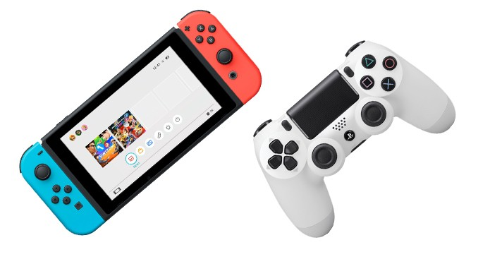 Nintendo Switch vs PS4 (Foto: Reprodução/Murilo Molina)